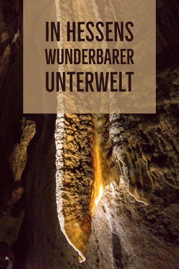 Ein Besuch in der Schauhöhle Herbstlabyrinth bei Breitscheid in Hessen. http://reise-schreibmaschine.de/europa/tropfsteinhoehle-hessen-herbstlabyrinth-breitscheid/