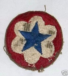 Military WWII US Army Service Forces Patch WWII Worn Military Uniform Patch 1941