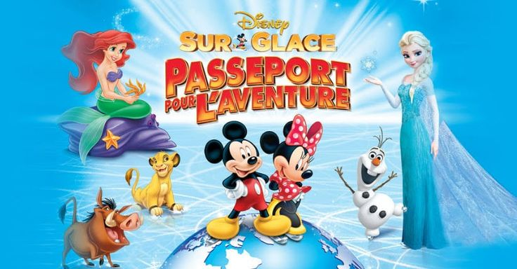 Un forfait pour 12 personnes pour le spectacle de Disney on ice à gagner!
