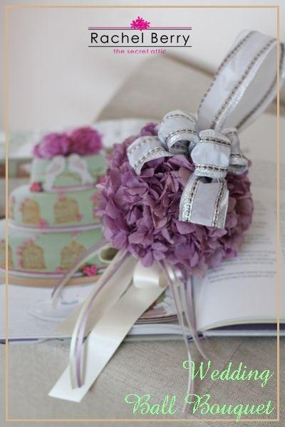 【募集】Birthstone Collection Amethyst Ball Bouquet  アメジスト色のボールブーケ♪|Rachel Berry the Secret Attic
