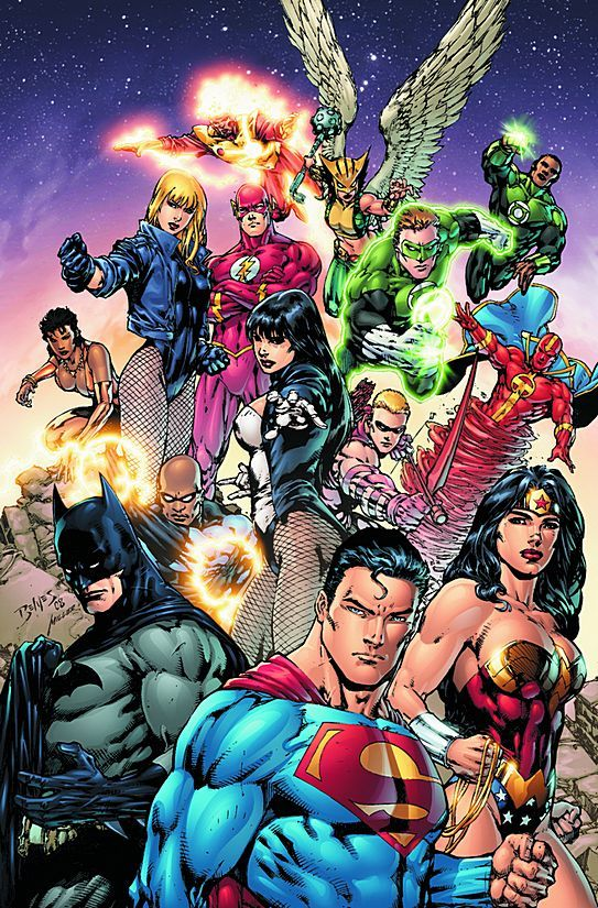 justice league | THEHAWK Casts the ENTIRE 108 Members of the Justice League!