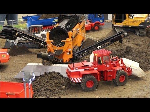RC Siebanlage SM 620 - Intermodellbau Dortmund - YouTube