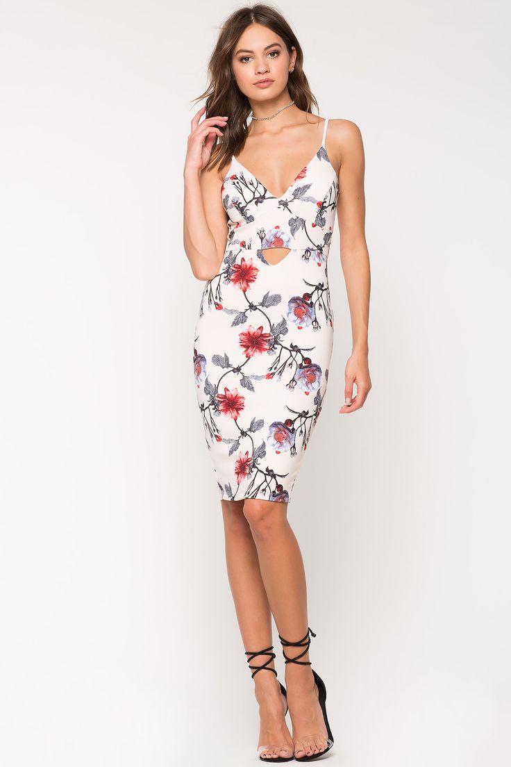 For women bodycon floral dresses cheap boutique