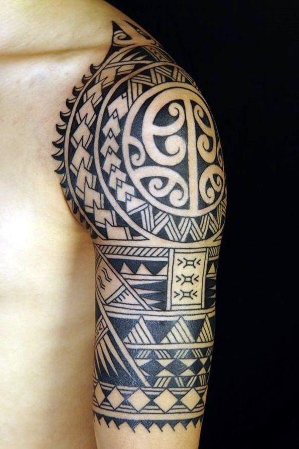 Cool Polynesian Tattoo Designs For Men 1 Cooltattoogeometric Polynesian Tattoo Designs Tattoo Designs Men Hawaiian Tattoo