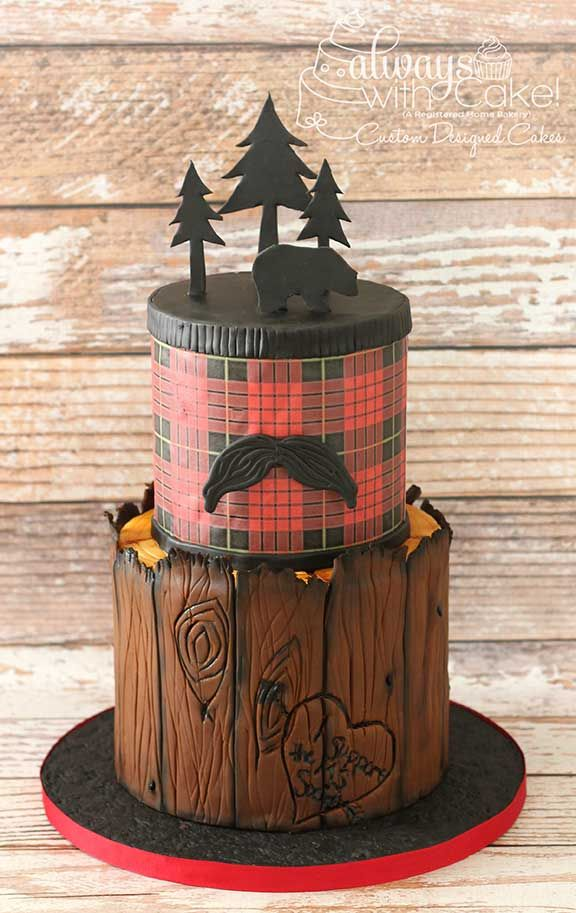 how to make a plaid pattern cake