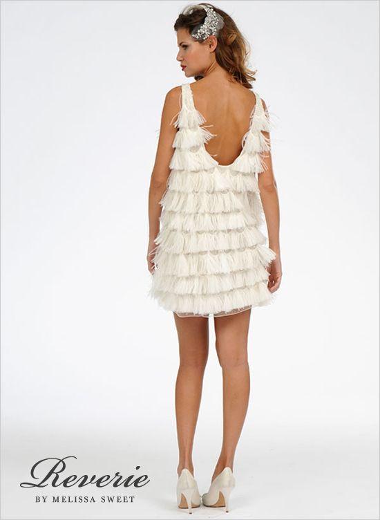 Reverie Priscilla Of Boston 2012 by Melissa Sweet  #dessy♥weddingchicks