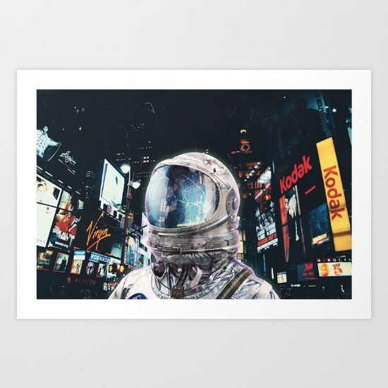 Buy Night Life Art Print by Seamless. Worldwide shipping available at Society6.com. Just one of millions of high quality products available.