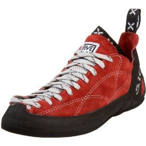 FiveTen Men's Coyote Lace-Up Climbing Shoe by Five Ten. $63.59. leather. C4 Stealth Rubber Sole. Slingshot heel rand. Padded tongue. Split Grain Leather Upper. Dual pull tabs. Amazon.com                Five Ten's Coyote was made particularly for those whose love sport climbing. The pull-on loops offer an easy entry while its traditional lace-up offers a custom, comfortable fit. Perfect for edging, its signature Fishhook midsole will keep you stable.                              ...