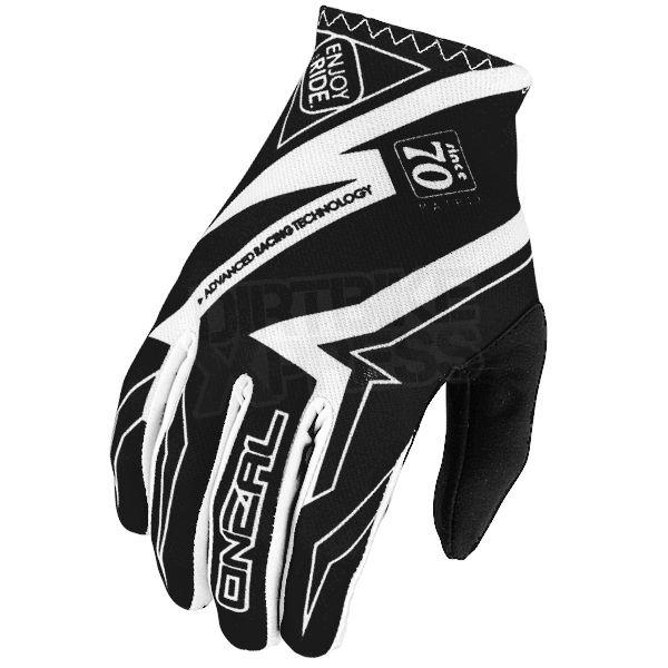 2016 ONeal Matrix Racewear Kids Motocross Gloves - Black White