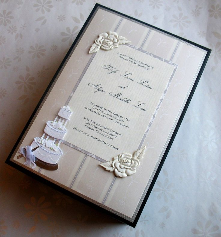 Wedding Invitation Keepsake Box by thememorykeepers on Etsy, $40.00 ...