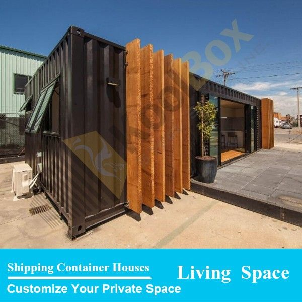2015 the latest design luxury 40ft prefab shipping for Luxury container home designs