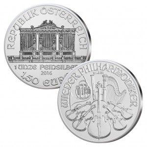 Österreich  1,50 Euro, 999er Silber, 1 Unze (31,1g), Ø 37mm