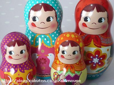 Matryoshka can 2 Peko-chan
