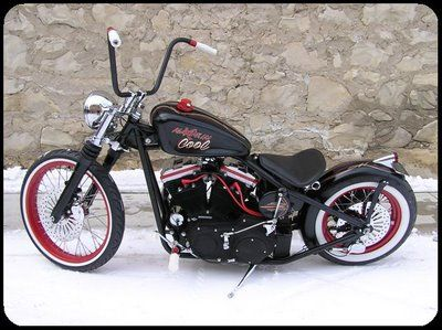 love this custom bobber