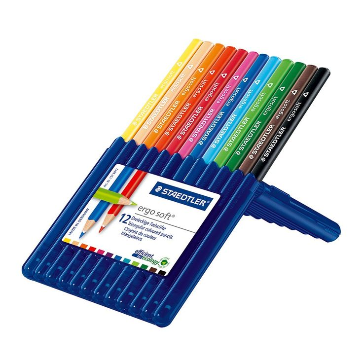 Staedtler : Ergosoft Pencil Sets #pencil #colour #color #set #drawing #draw https://www.jacksonsart.com/staedtler-ergosoft-pencil-sets?utm_source=pin&utm_medium=pin&utm_campaign=drawing01022016