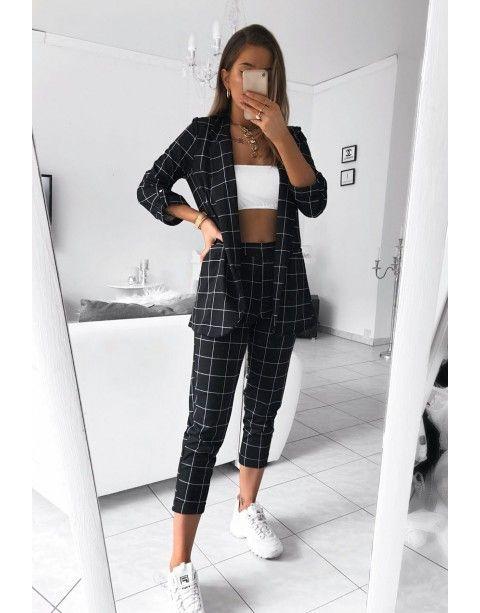 Black pants + jacket set