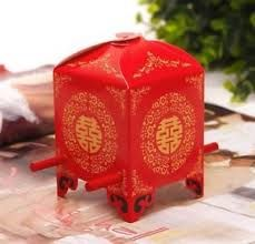 Chinese Style Asian Wedding Favour Box