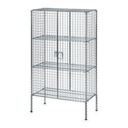 IKEA - IKEA PS 2017, Storage unit, Easy to assemble without tools or screws.Steady on uneven floors, thanks to the adjustable feet.The shelves are adjustable so you can customize your storage as needed.
