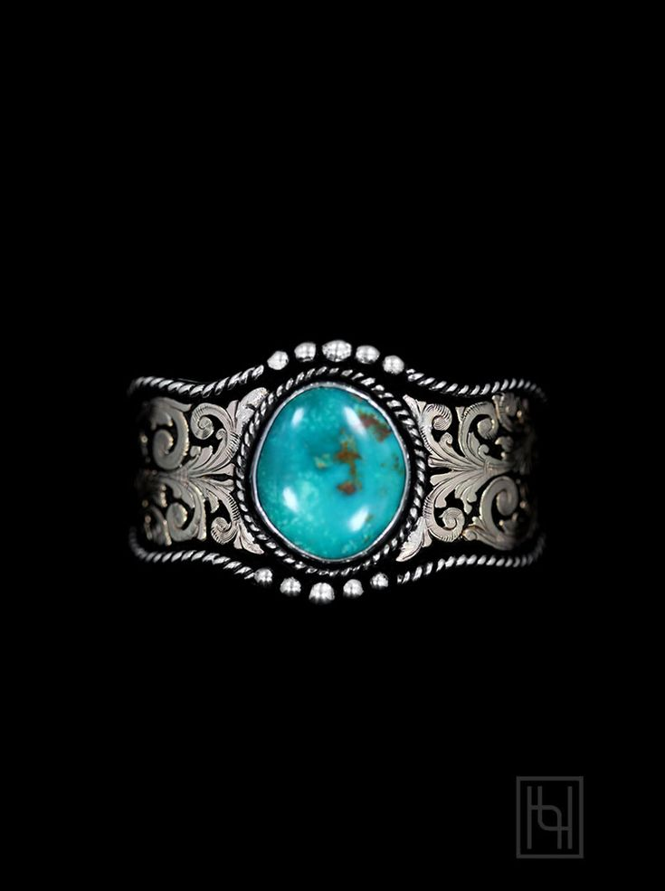 Enjoy a one-of-a-kind earth stone with the RimRock™ & Rope Turquoise Cuff Bracelet. No two pieces are exactly alike, differing in shape and veining, and rich color displays of shades ranging from deep blues, cyans, teals, and sky blues.  You'll love the empowering look of beautifully unique turquoise with gold and black!