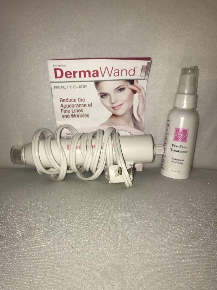 DERMA WAND Advanced Radio High Frequency Beauty Treatment DermaWand Wrinkle Free #DermaWand