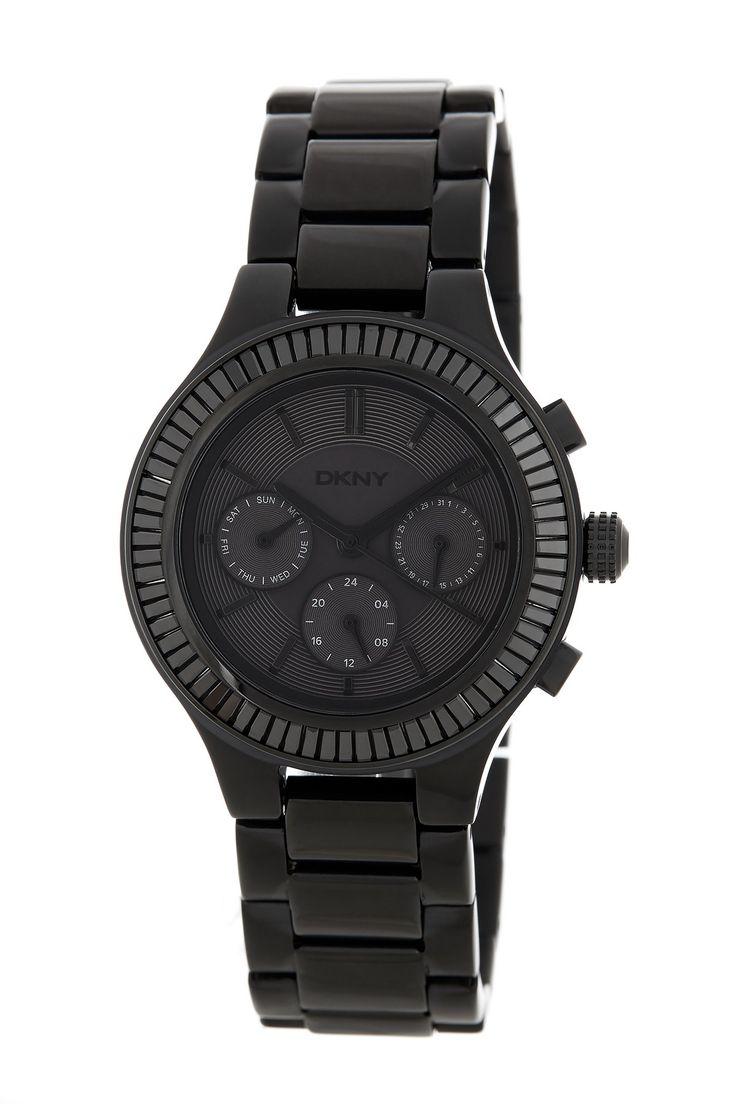 Women's Chambers Bracelet Watch by DKNY on @HauteLook
