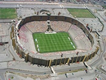 Power-Ranking World Football's 50 Best Stadiums. Estadio Monumental: Lima, Peru Opened: 2000 Capacity: 80,000+ Tenants: Universitario de Deportes South America's second-largest stadium, Peru's Estadio Monumental, is a massive footballing venue in the small country. Home to Universitario de Deportes, the venue also hosts some of the Peruvian National Team's matches.