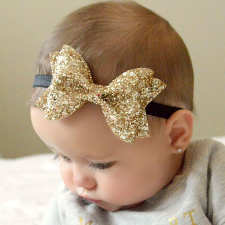 >> Click to Buy << New Cute Newborn Shiny Sequins Bow Knot Headband Girls Bow Elasticity Hair Band Kids Headband Girls Hair Accessories #Affiliate