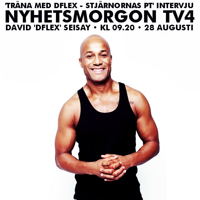 TV4 Nyhetsmorgon och rabatt på boken http://bloggar.aftonbladet.se/dflexyourbody/2013/08/tv4-nyhetsmorgon-och-rabatt-pa-boken/ #personaltrainer, #fitspo, #fitminds, #fitfam, #workforit, #justdoit, #sixpack, #teamfitness, #pushyourself