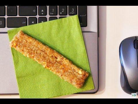 Barrette Break - Raw Snack Energetico - Gusto Esotico - Ricetta Crudista