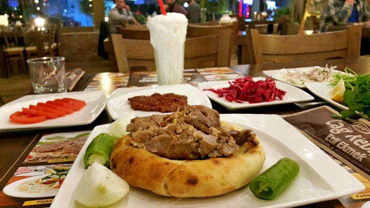 """H & M Cağ Kebap Etli Ekmek'de """"Konya Fırın Kebabı"""" ... - Rezervasyon: 0242 3224141"""