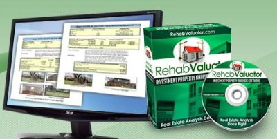 Free Rehab Valuator for analyzing and marketing your rehab properties
