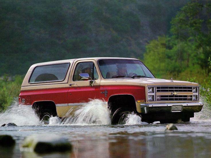 1985 Chevy K-5 Blazer