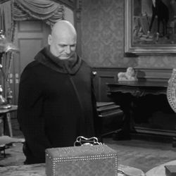 "Uncle Fester and Thing in ""The Addams Family"" (1964-1966)"
