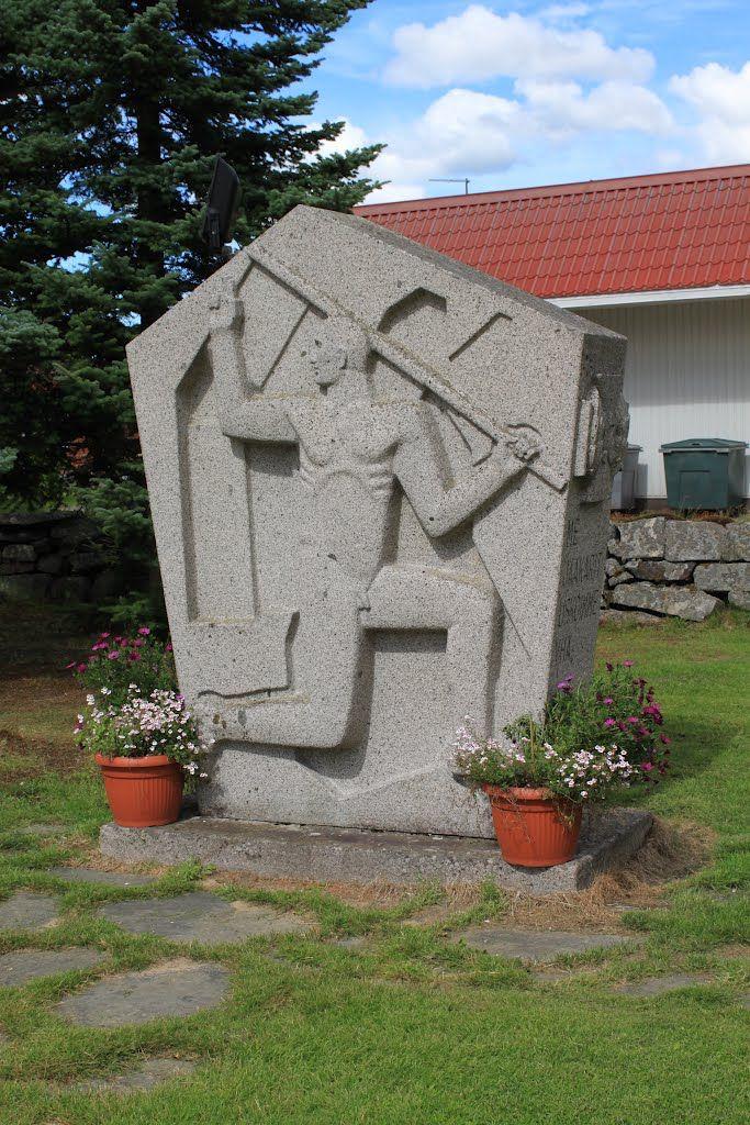 Kortesjärvi, Jääkäri muistomerkki
