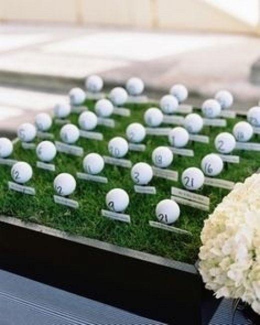 Mariage Theme Golf 5 Mariage Mariage Sur Le Theme Du Golf Plan De Table Mariage