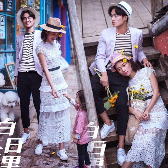 위치 드레스에 2017 새로운 스튜디오 테마 의류 커플 사진 촬영 카메라 photography 결혼식 여행 거리 패션 촬영