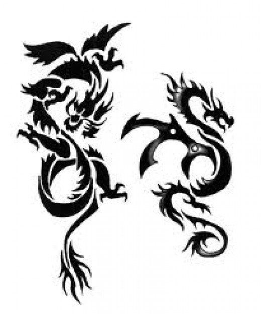 Considering getting a dragon tattoo? Read on for in-depth discussion of the meaning and symbolism of a dragon tattoo, including Chinese and Japanese designs, with many photos.