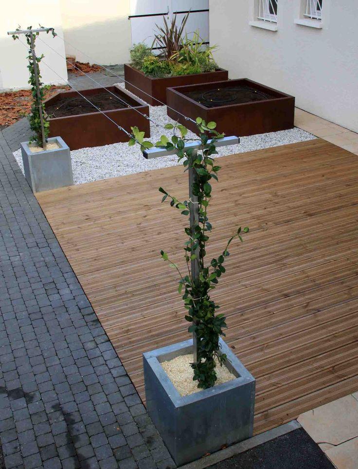 Bois Autoclave sur Pinterest  Palissade bois, Composteur en bois et
