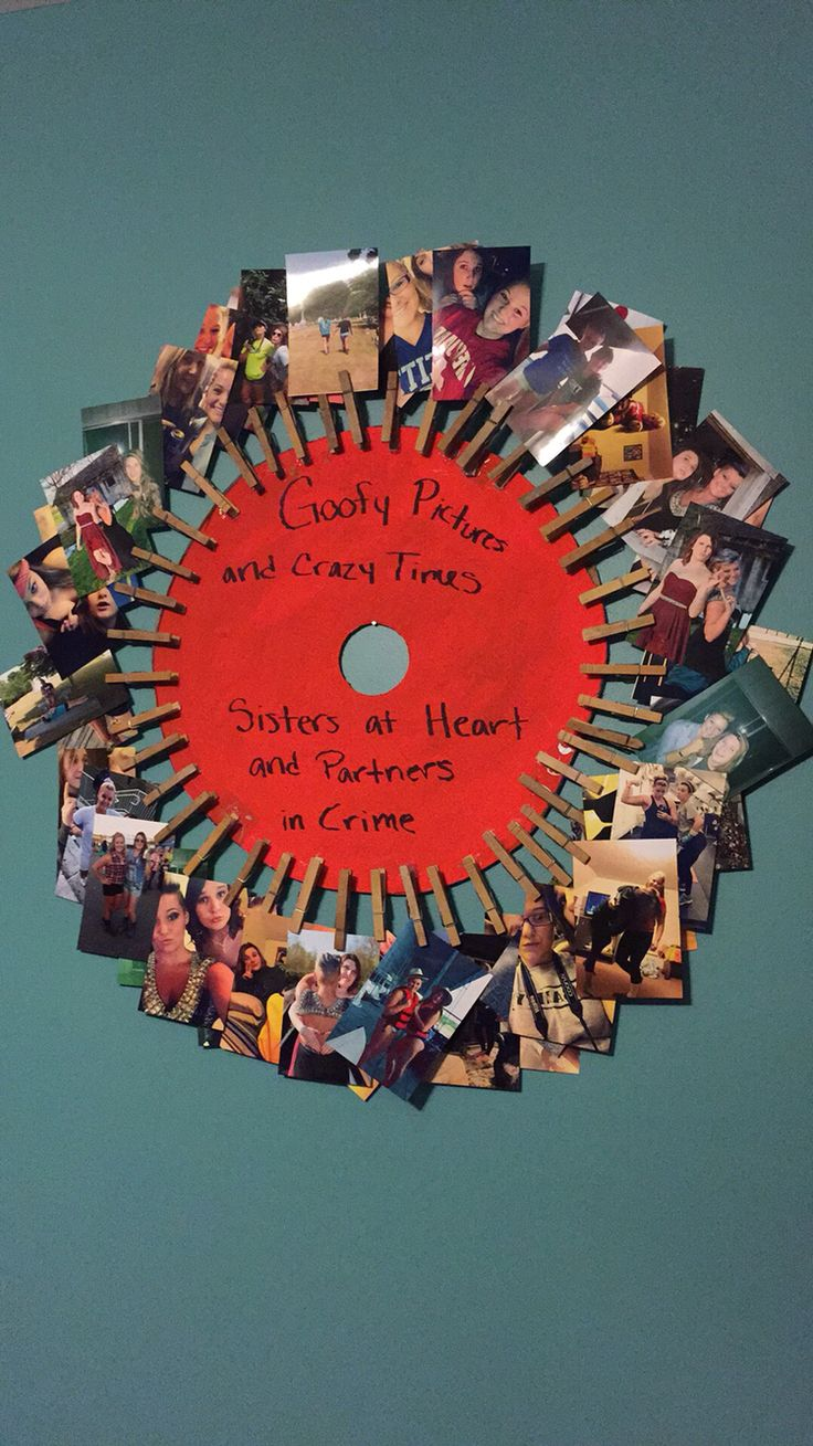 DIY bestfriend gifts. Shows all your memories