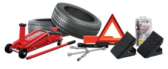 Learn how to change a tire and what tools you need to change the tire at Pep Boys.
