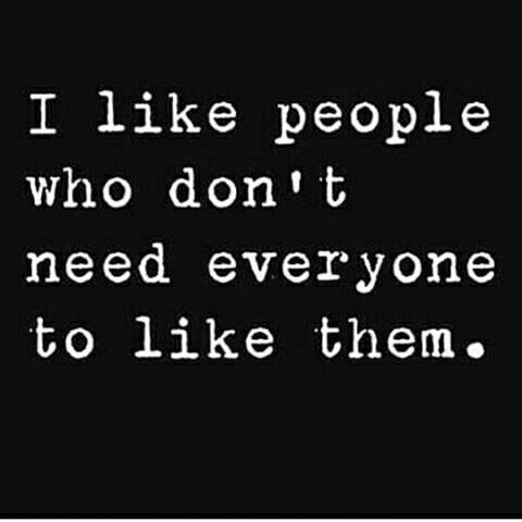 Yes!! My kind of people and I would rather be disliked and talked about by people who are ABSOLUTELY no better than I am.   It just fuels the fire to grab life by the pussy #trumpd