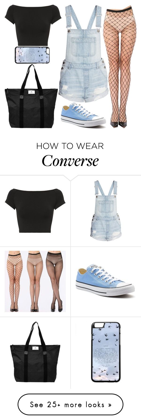 """""""Going Out"""" by lucy-wolf on Polyvore featuring DAY Birger et Mikkelsen, H&M, Converse and Helmut Lang"""