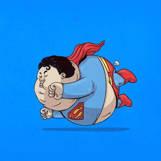Chunky Superman