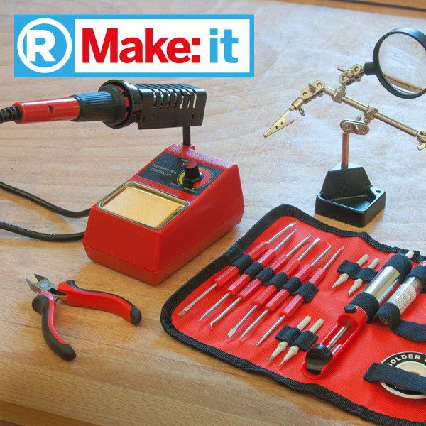 11 best do it yourself images on pinterest maker space brazing makeit soldering kit pick up the makeit soldering starter kit a stellar assortment of tools to get you up and running with all of your soldering needs solutioingenieria