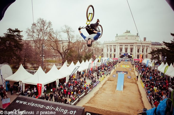 Vienna Air King 2013: Sam Reynolds at 3rd     photo credit: Bartek Wolinksi //pinkbike