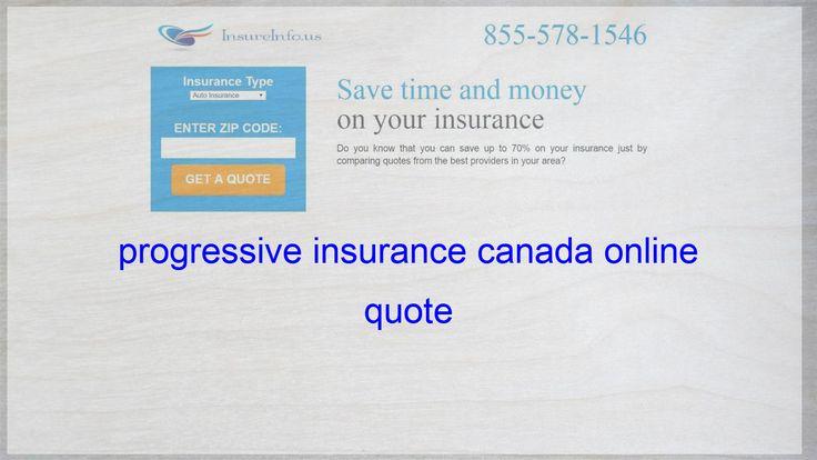 Progressive Insurance Canada Online Quote Life Insurance Quotes