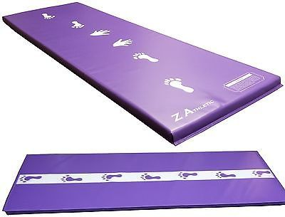Equipment 79793: Z-Athletic Purple Childrens Gymnastics Cartwheel / Beam Training Mat -> BUY IT NOW ONLY: $66.59 on eBay!