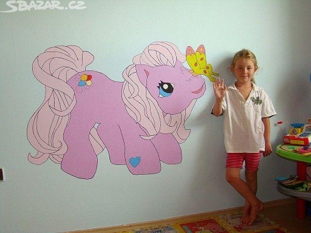 Šablony a barvy na malování na zeď - obrázek číslo 1