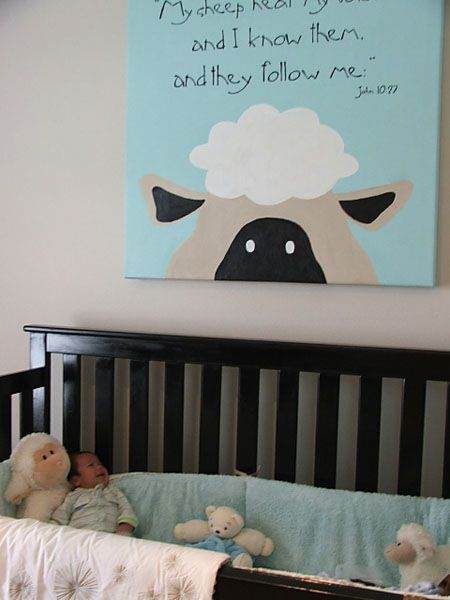 I like the idea, but I won't need it for a baby room anymore...