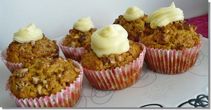O varení, živote a tak...: Tekvicové muffiny